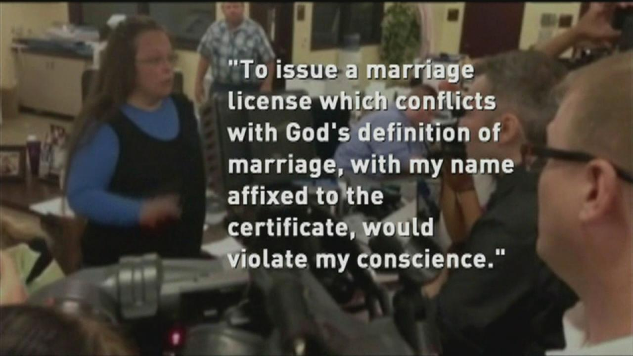Judge orders Kentucky clerk refusing to issue gay marriage licenses to court