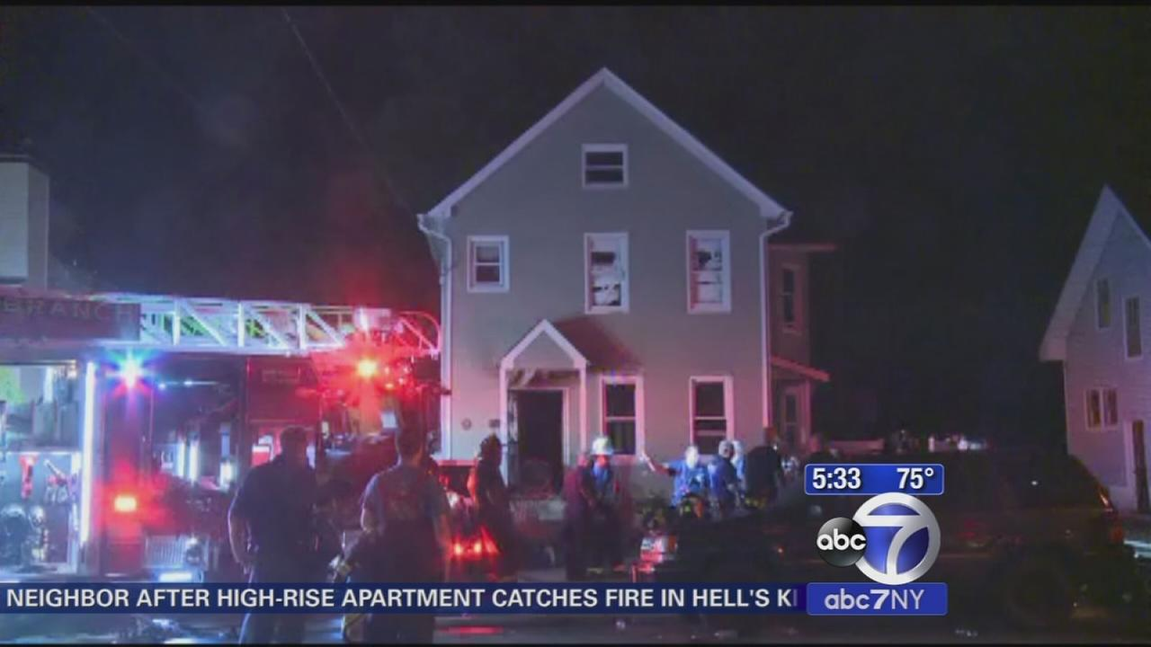 3 dead in fire in New Jersey overnight