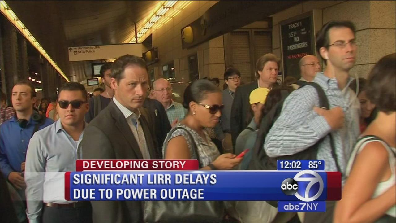LIRR still delayed after power shutdown Wed. morning
