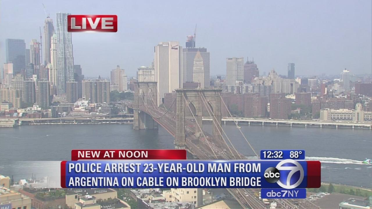 brooklyn bridge arrest