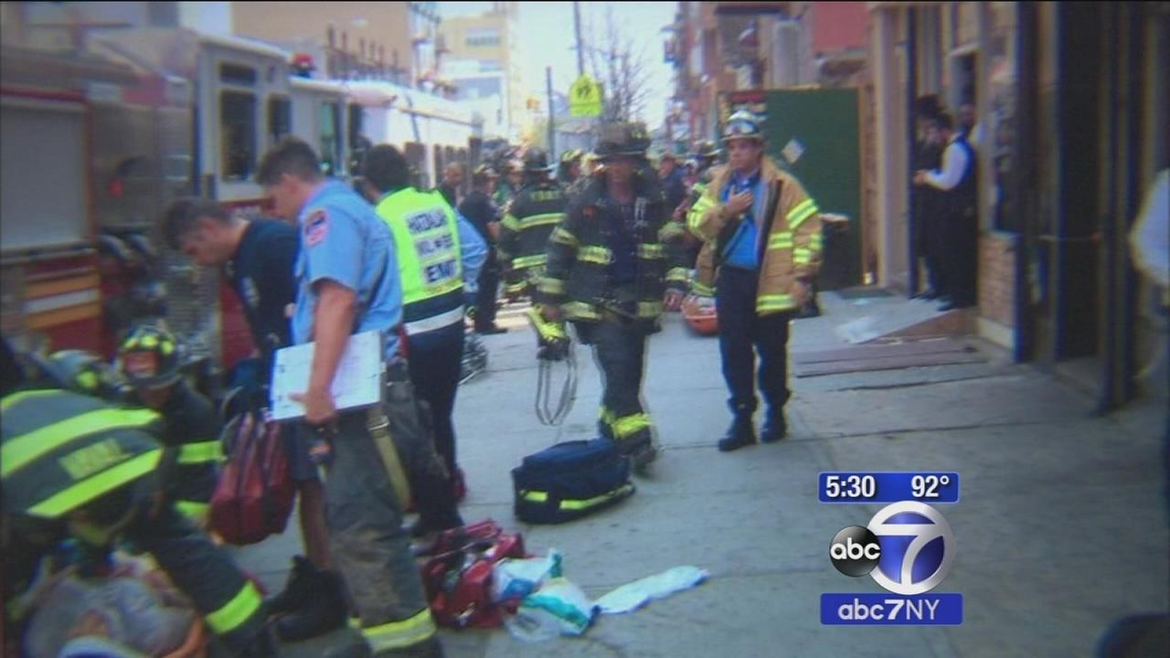 19-year-old worker dies after Brooklyn wall collpase