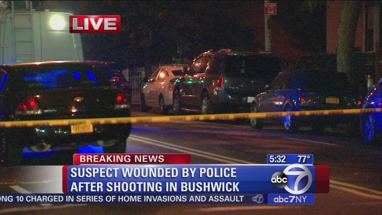 Police shoot man in Bushwick overnight