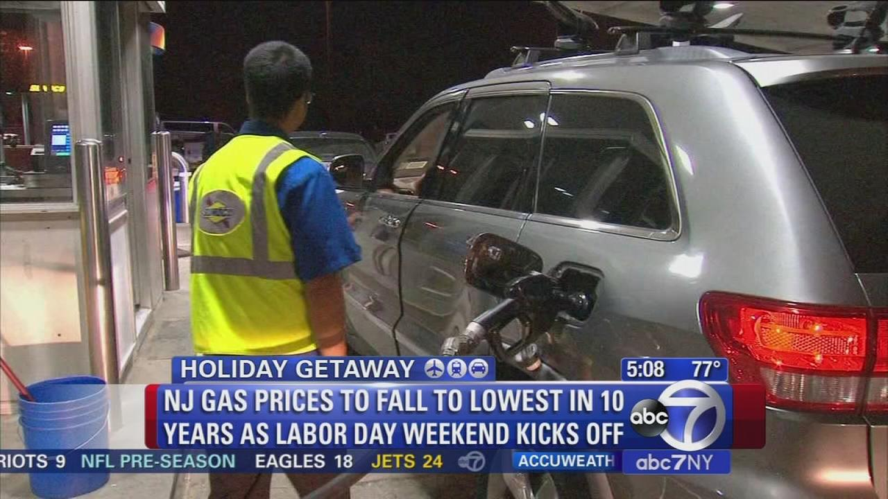 How does Labor Day travel in the area look?