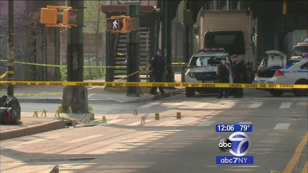 Man wounded in police shootout in Bushwick