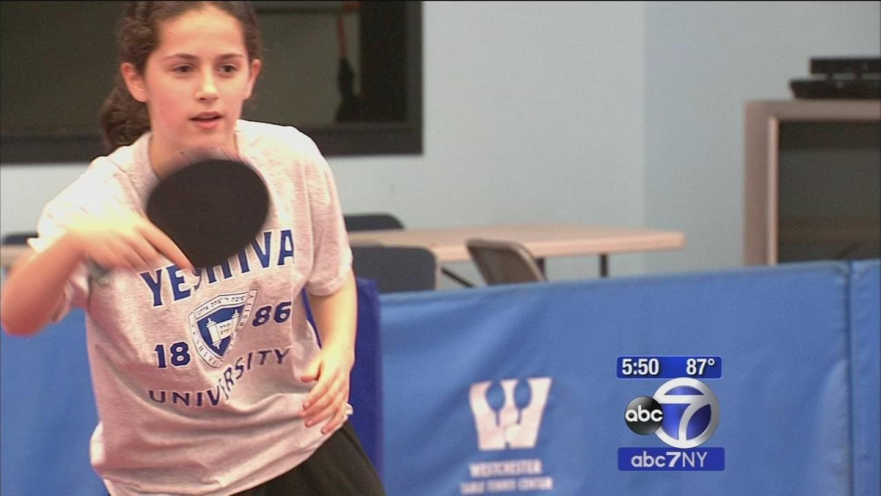 Teen from Long Island one of the best in the world at table tennis