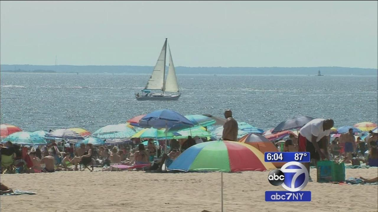 New York City beach swimming season extended