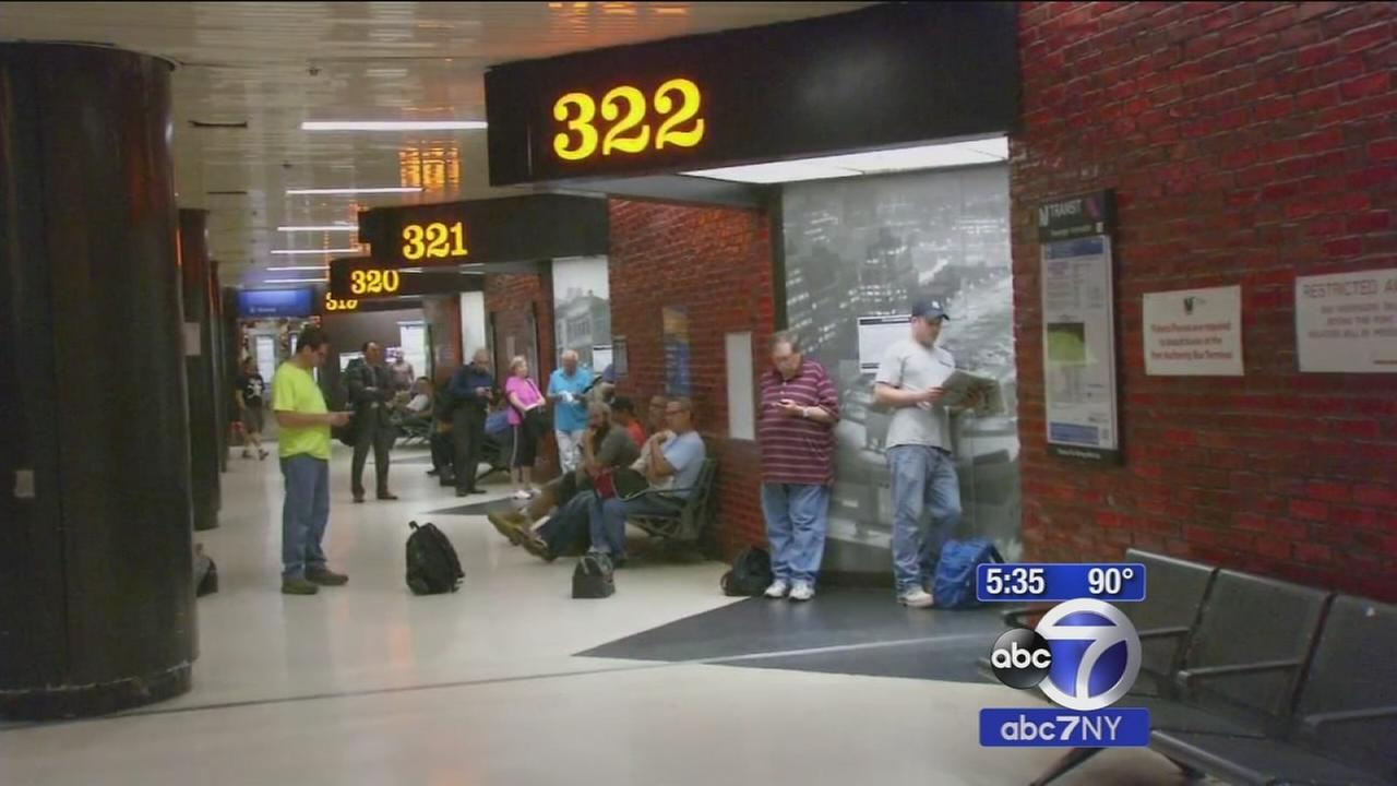 Port Authority Bus Terminal gate changes to reduce overcrowding begins