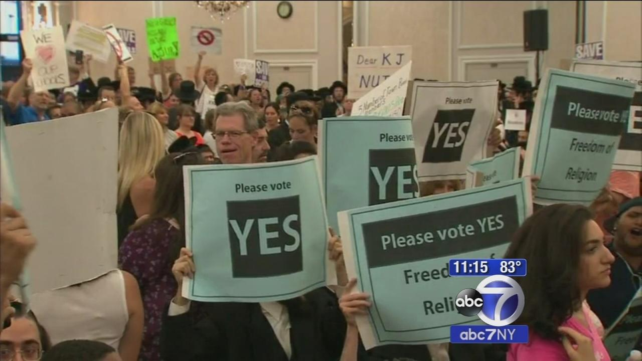 Heated debate over decision to expand Kiryas Joel