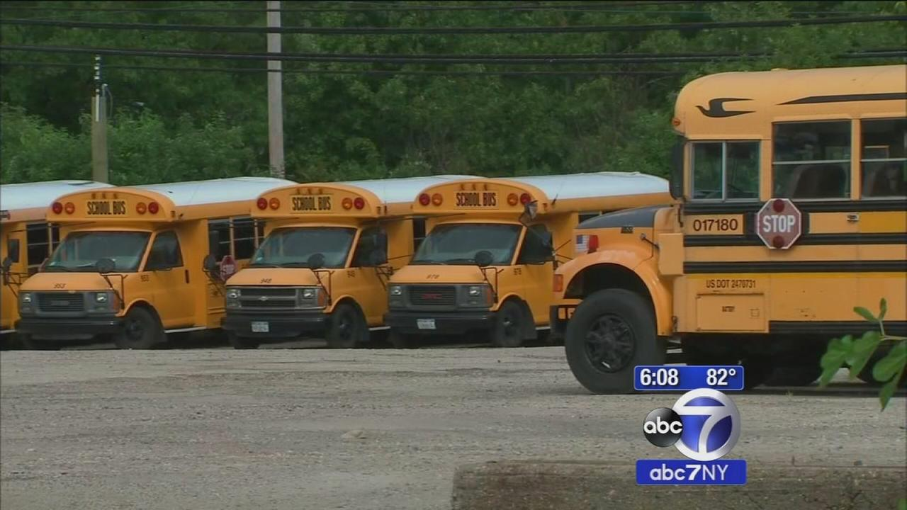 School Bus Strike Long Island