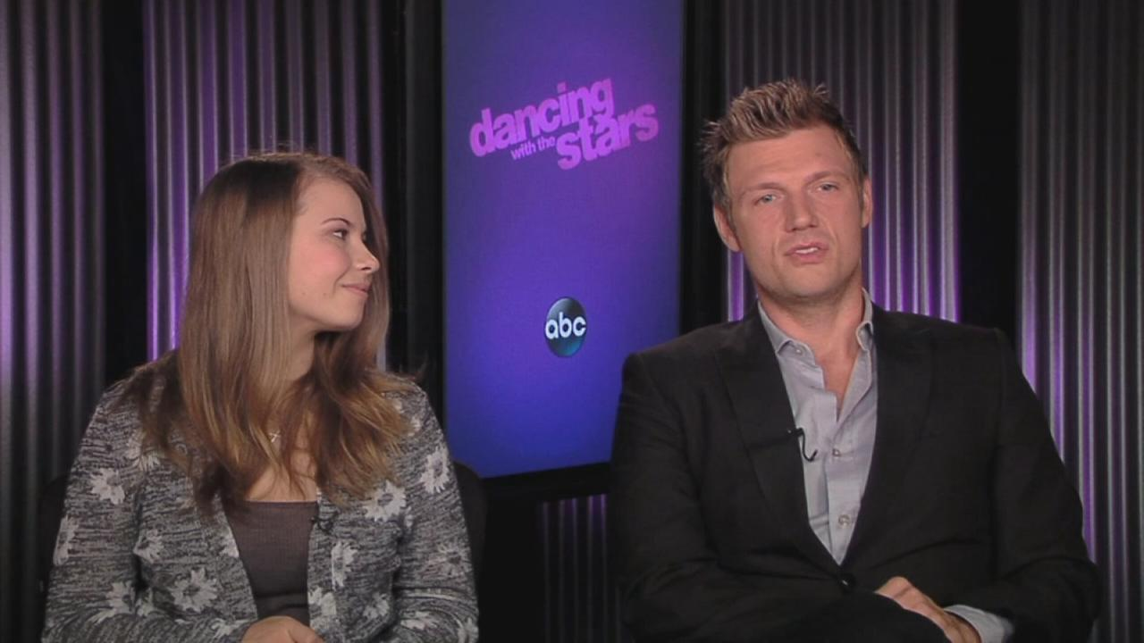 Nick Carter talks about dance insecurity