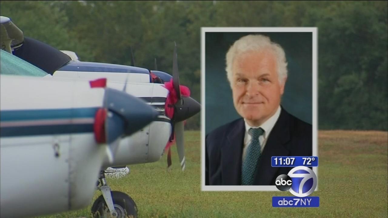 Pilot found dead in plane wreckage in New Jersey