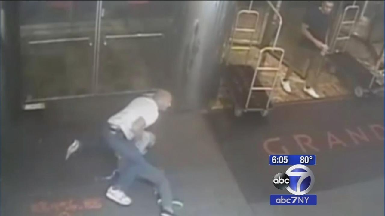 Video released of police takedown of James Blake