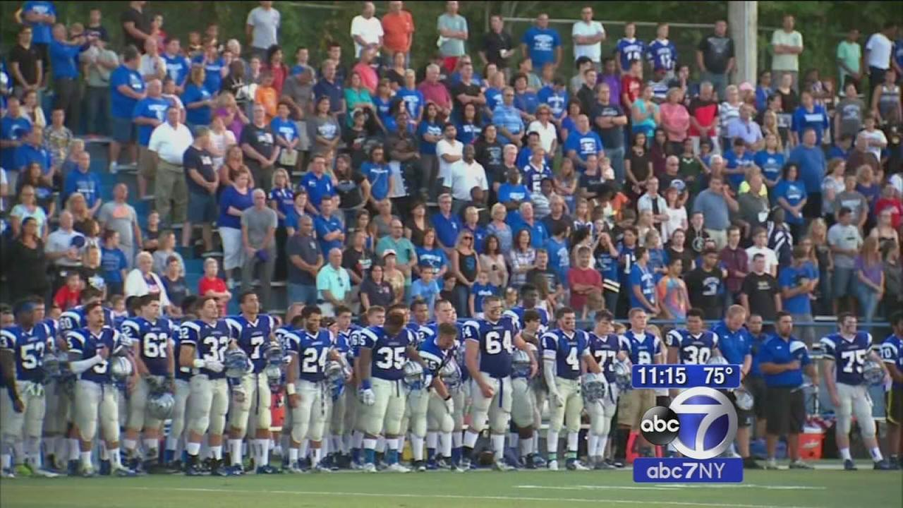 Sayreville High School football team returns to field after scandal