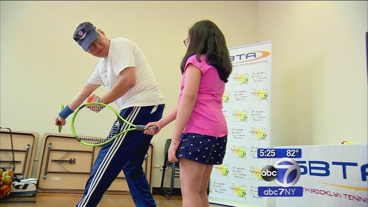 Brooklyn tennis player bringing the sport to inner-city kids