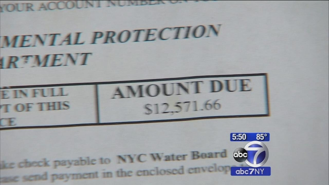 New Queens homeowner soaked with $12000 water bill