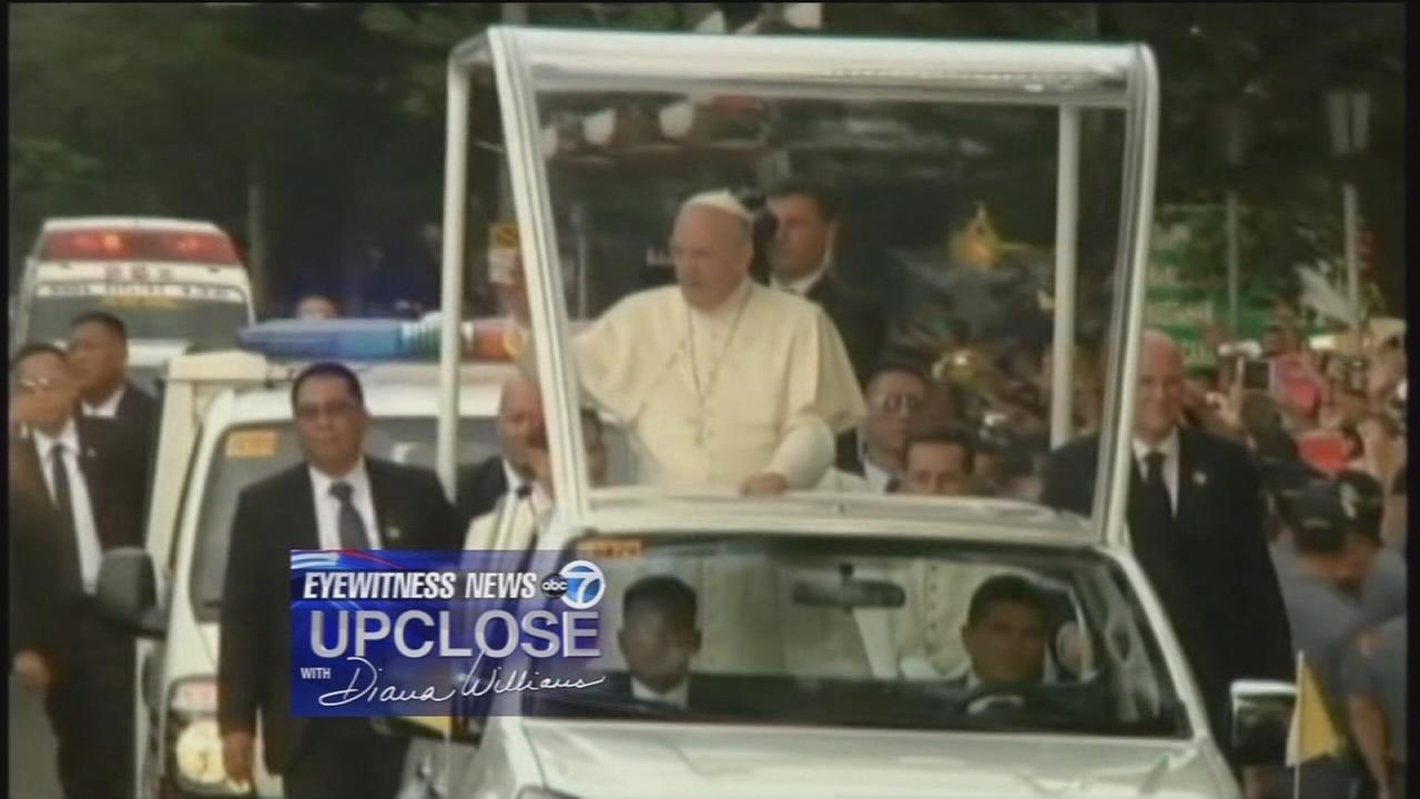 Up Close: Security for papal visit