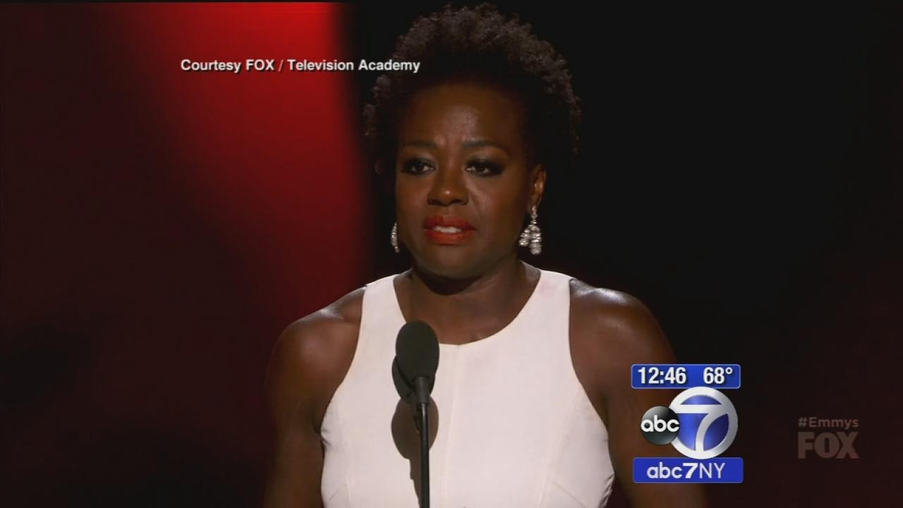 Historic night at Emmy Awards