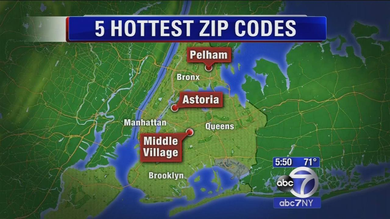 Hottest zip codes where people are buying