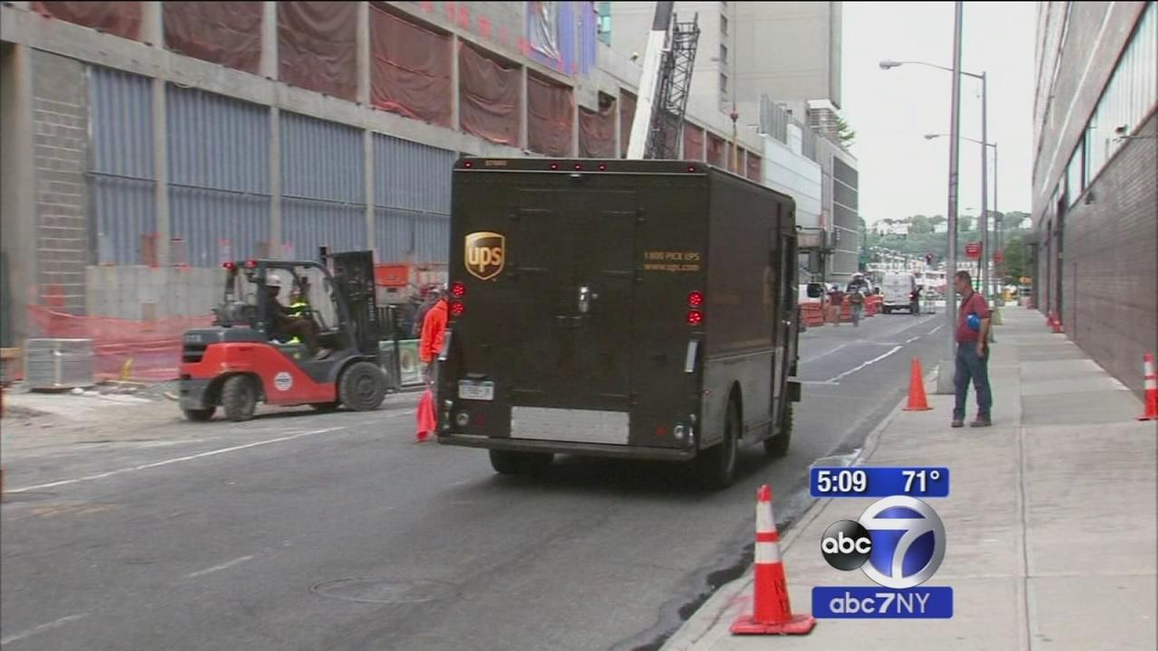 Waiting for a UPS package? Expect service impacts during pope visit