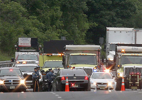 Police officer killed in Bernards Township auto crash