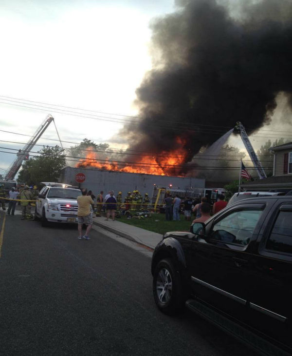Authorities say that a Monmouth County firefighter has been killed fighting a fire at a commercial building in Union Beach. <span class=meta>Christopher</span>