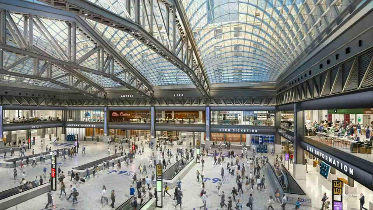 Plans are underway to overhaul the existing Penn Station.