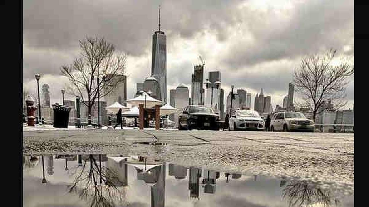 The storm hit many parts of the Tri-State area hard later Saturday morning and began to taper off by evening in the city.