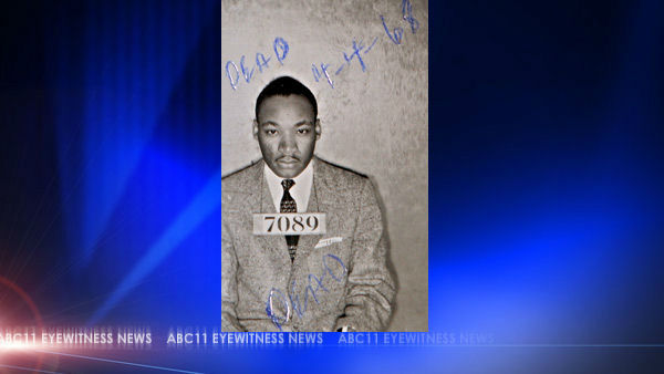 <div class='meta'><div class='origin-logo' data-origin='none'></div><span class='caption-text' data-credit='AP'>A Montgomery Sheriff's Department booking photo of The Rev. Martin Luther King Jr. taken Feb 22, 1956</span></div>