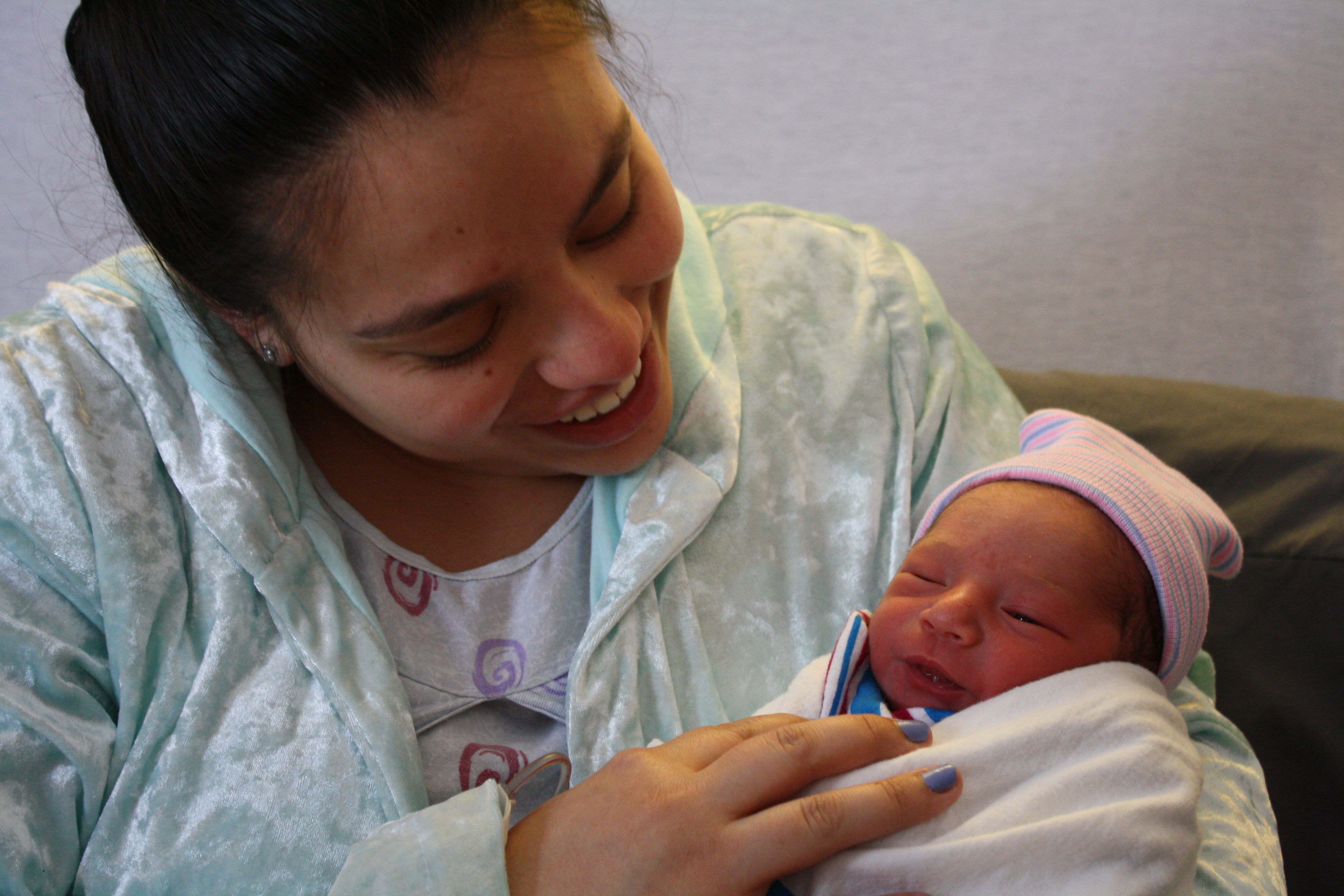 <div class='meta'><div class='origin-logo' data-origin='none'></div><span class='caption-text' data-credit=''>Baby Agustin was born at 12:57 a.m. at Swedish Covenant Hospital to the Morales family.</span></div>
