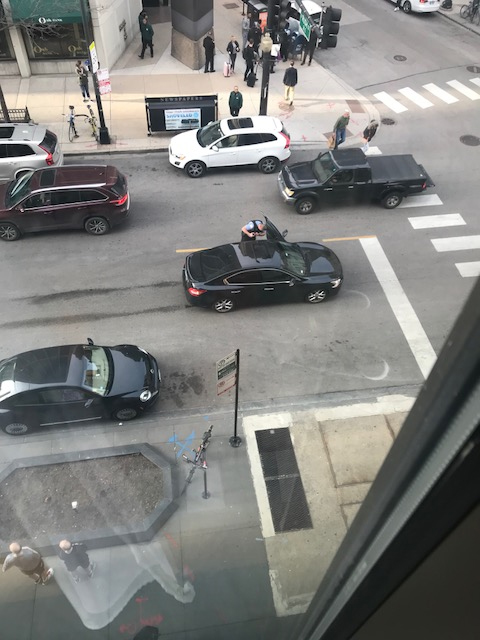 <div class='meta'><div class='origin-logo' data-origin='none'></div><span class='caption-text' data-credit=''>A person in Barney's witnessed the aftermath of a carjacking and shooting Thursday afternoon from inside the store.</span></div>