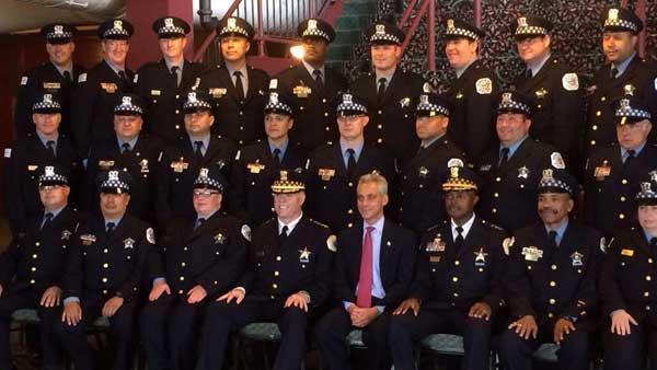 McCarthy, Emanuel attend Chicago Police Academy graduation ...