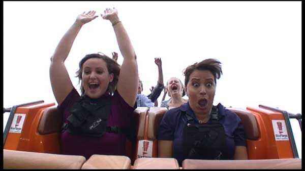 <div class='meta'><div class='origin-logo' data-origin='none'></div><span class='caption-text' data-credit='WLS Photo'>ABC7 reporter Jessica D'Onofrio rode the new record-breaking roller coaster Goliath, one day before it opens to the public at Six Flags Great America.</span></div>