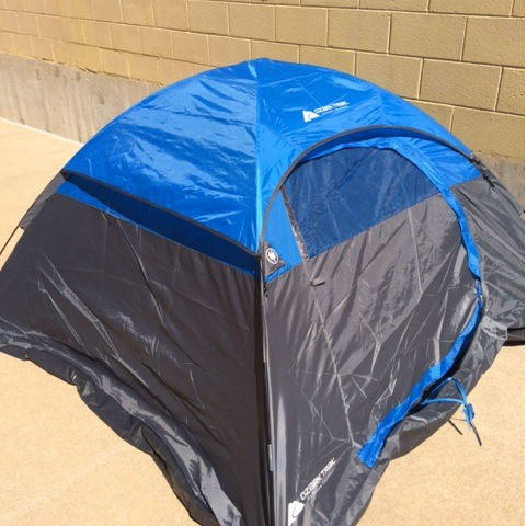 Police also believe that Doddy may be in possession of a blue dome styled camping tent (Photo: Illinois State Police) <span class=meta>WLS Photo</span>