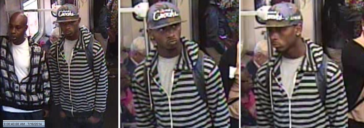 <div class='meta'><div class='origin-logo' data-origin='none'></div><span class='caption-text' data-credit=''>On Thursday night, the Chicago Police Department released additional surveillance images of the suspects sought in multiple CTA Orange Line robberies.</span></div>