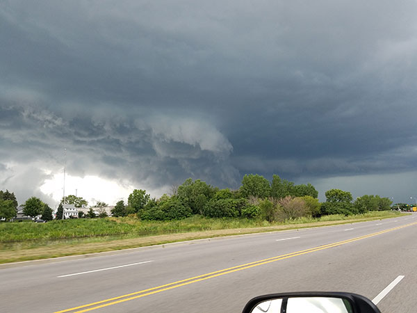 <div class='meta'><div class='origin-logo' data-origin='WLS'></div><span class='caption-text' data-credit='Joe Reyes'>Storm clouds in Carol Stream, heading to Schaumburg.</span></div>