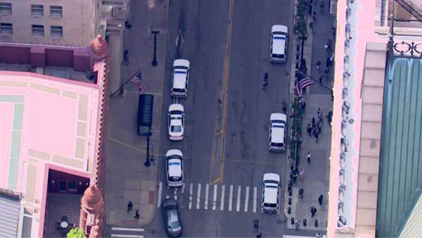 Two people were apparently shot inside a high-rise building in Chicago's Loop, according to Chicago Police Department officials. <span class=meta>WLS Photo</span>