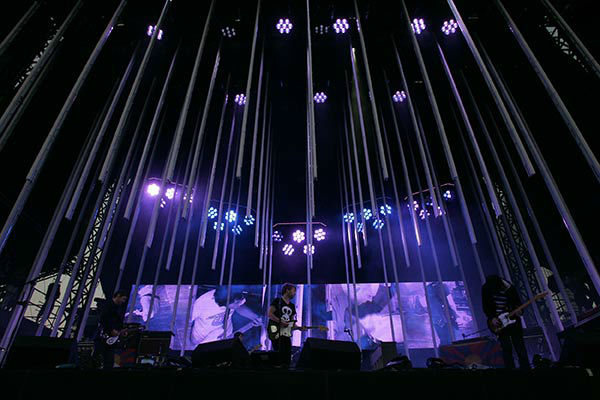Radiohead performs at Lollapalooza 2008 <span class=meta>AP Photo/Russel A. Daniels</span>