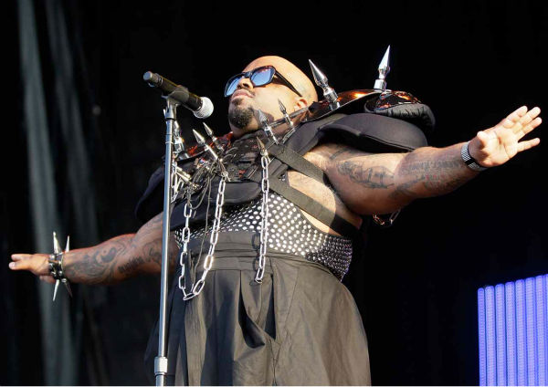 Cee Lo Green performs at Lollapalooza 2011. <span class=meta>AP Photo/Nam Y. Huh</span>