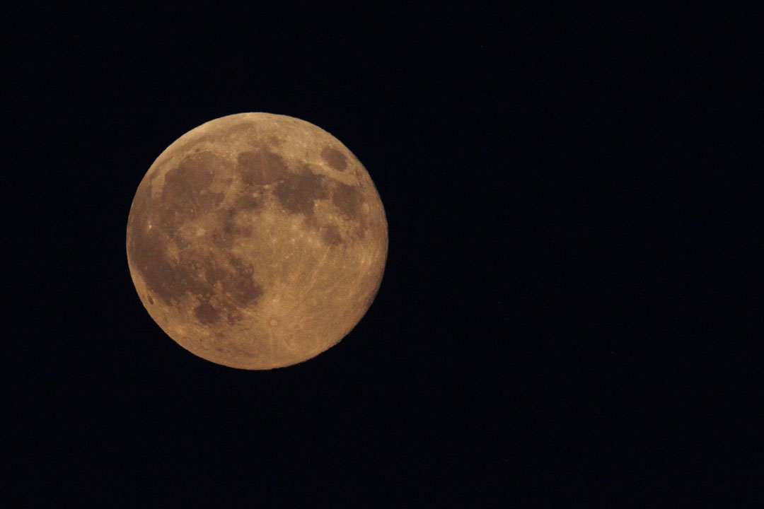 "<div class=""meta image-caption""><div class=""origin-logo origin-image ""><span></span></div><span class=""caption-text"">The supermoon appears yellow as the sky darkens over Edgartown, Mass., Sunday, Aug. 10, 2014, on the island of Martha's Vineyard, where the Obama family is vacationing. (AP Photo/Jacquelyn Martin)</span></div>"