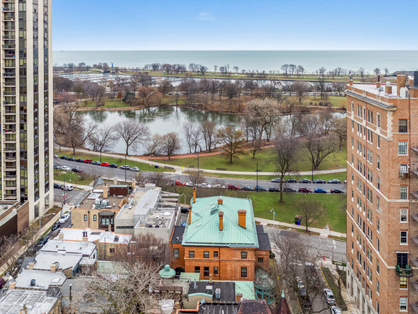 <div class='meta'><div class='origin-logo' data-origin='none'></div><span class='caption-text' data-credit='Parkvue Realty'>Chicago's historic &#34;Wrigley Mansion&#34; is back on the market at a lower price.</span></div>
