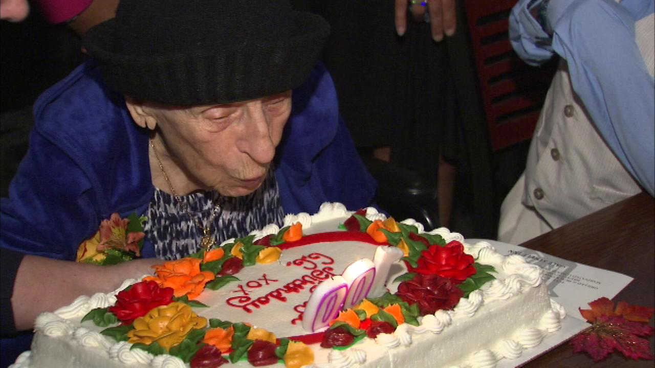 Amelia Paule turns 100 on Tuesday, but her family threw her a party Monday night.