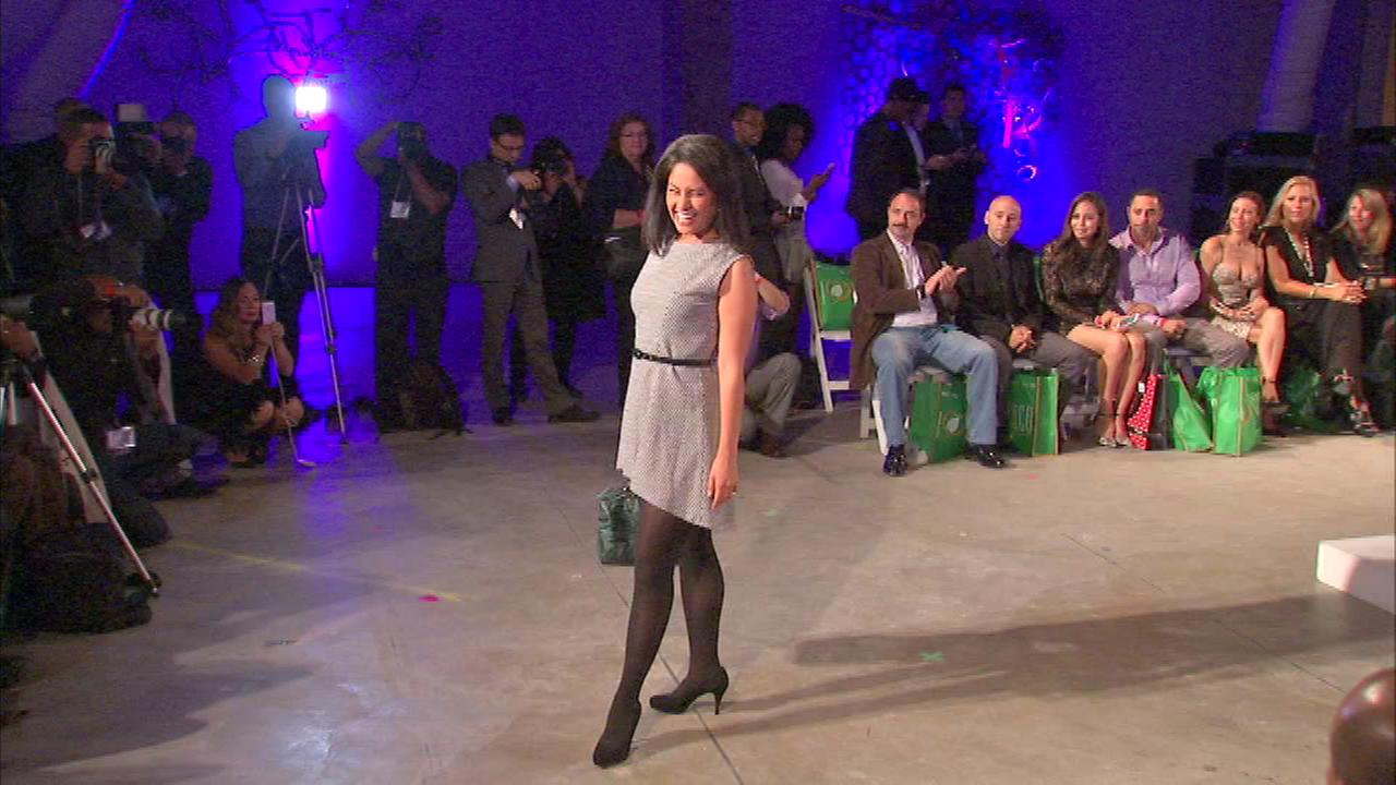 The show honored designer Agatha Ruiz de la Prada, who debuted her line in Chicago for the first time ever. One of the models on the catwalk was ABC7s own Stacey Baca.