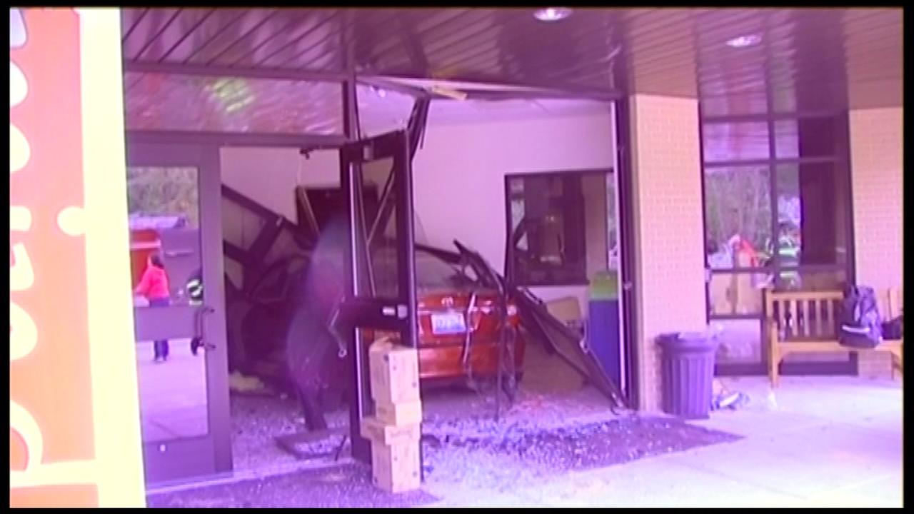 Six people have been hospitalized after a driver allegedly lost control of their vehicle and slammed into a Grayslake church, police said.