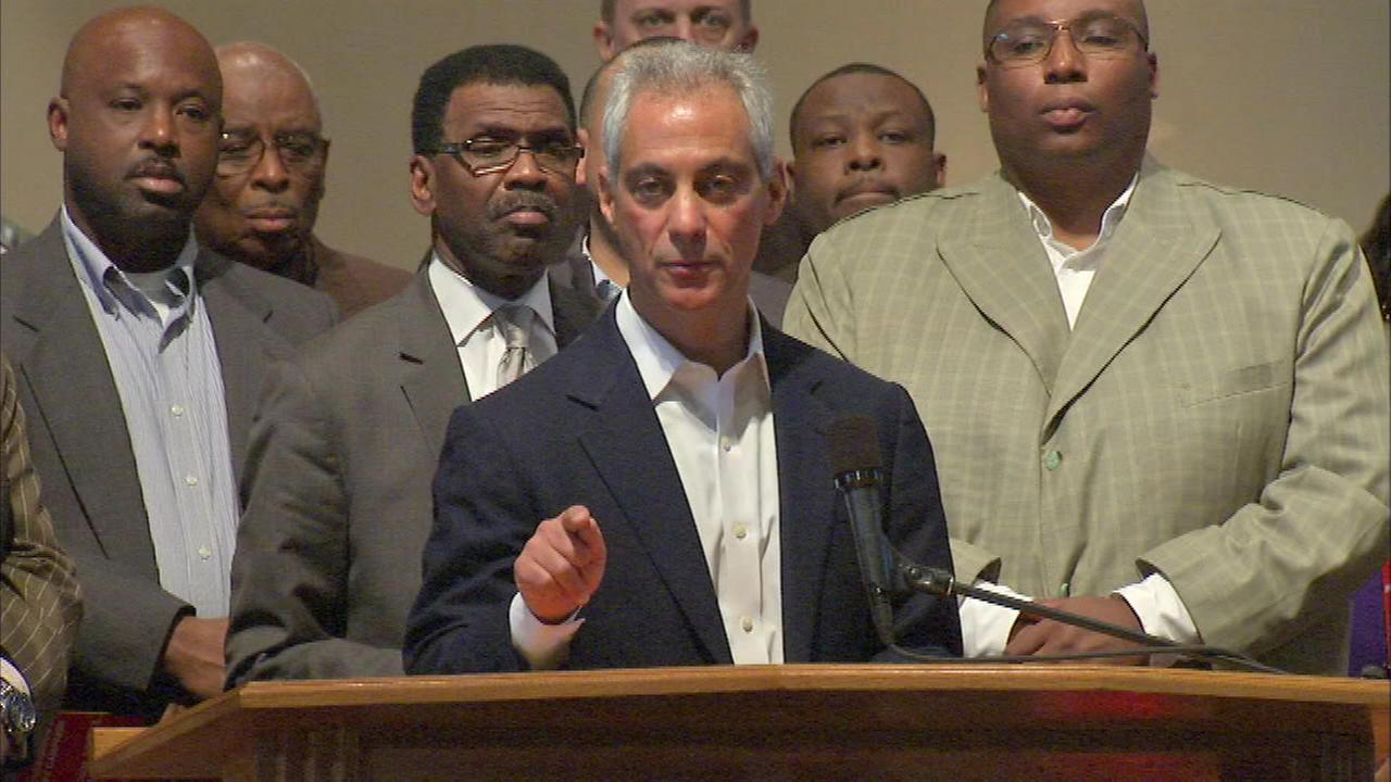 Mayor Rahm Emanuel is calling on families to help stop the spread of gun violence across the city.