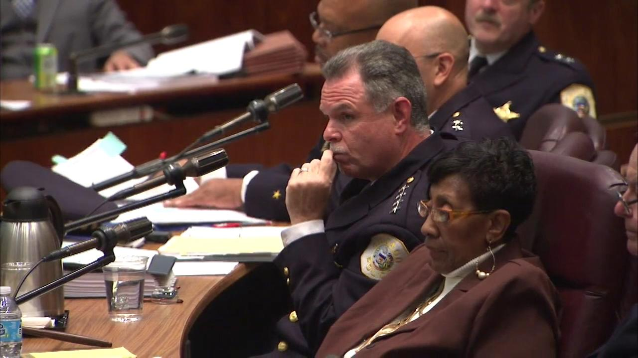 Chicago Police Supt. Garry McCarthy goes before the City Council on October 6, 2015.