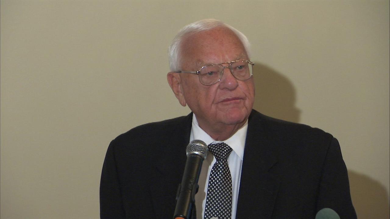 Former IL Gov. George Ryan on October 9, 2015.