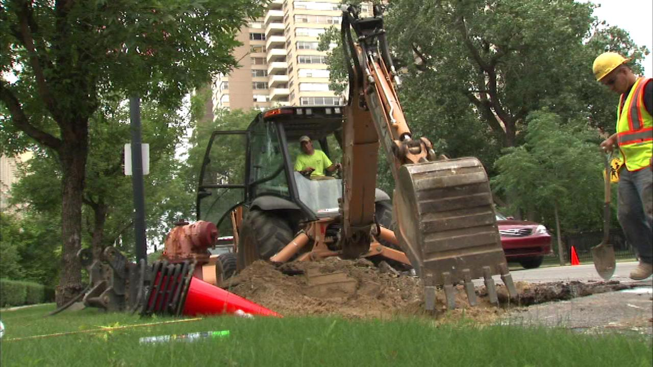 The city of Chicago is going high-tech in its mission to replace the aging water and sewer systems.