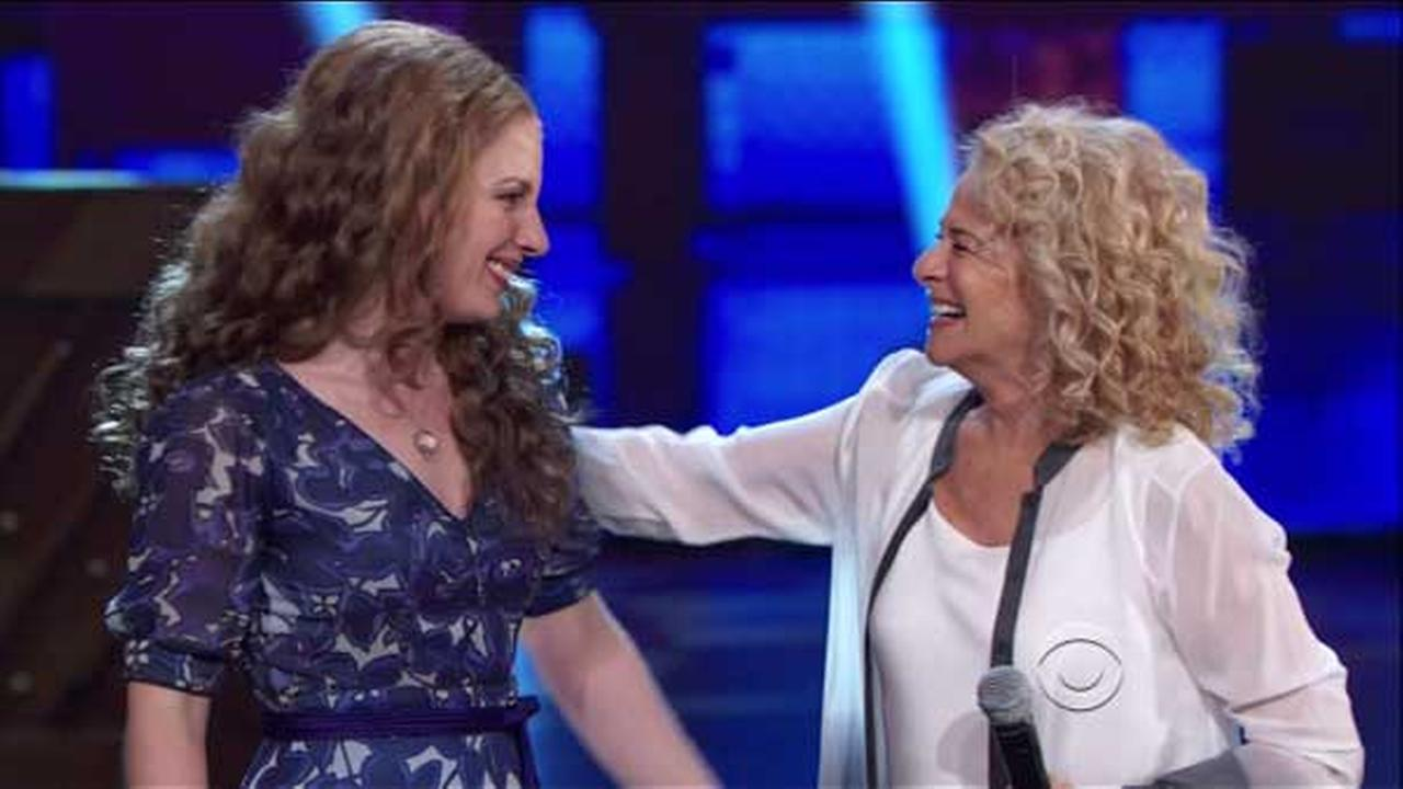 Jessie Mueller and Carole King