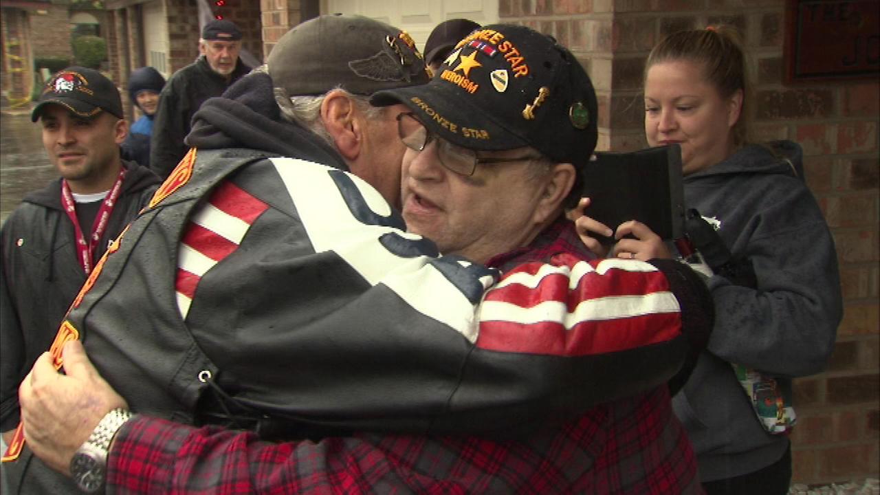 Vietnam War veteran Richard Jones receives a long-neglected welcome home.
