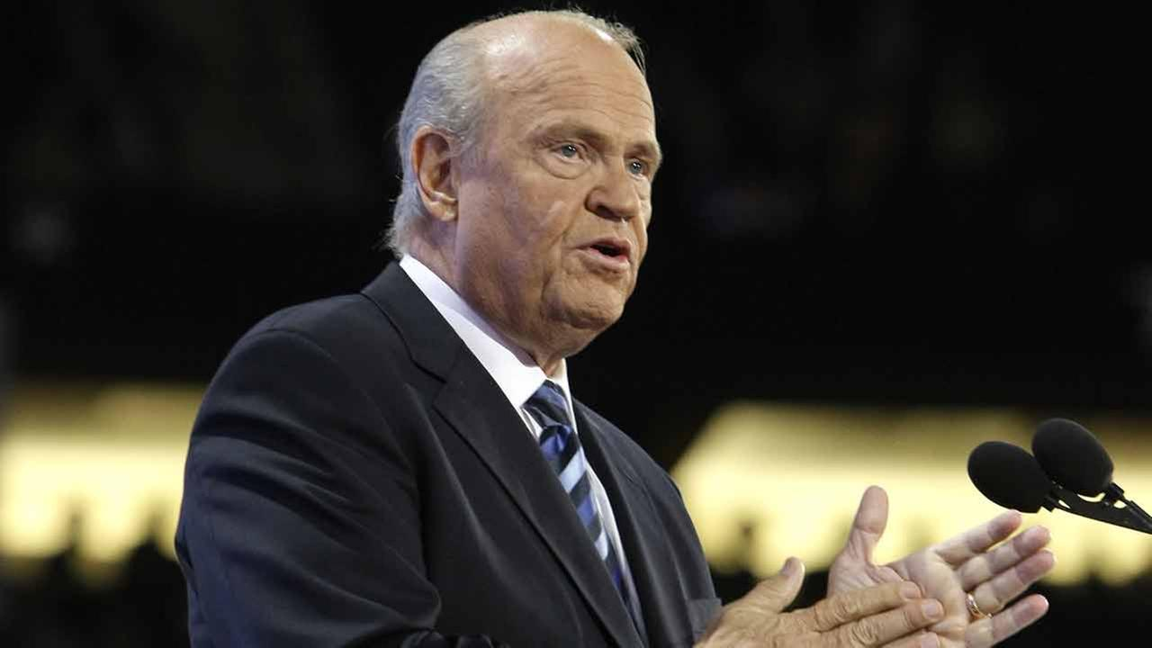 Former Sen. Fred Thompson, R-Tenn. speaks at the Republican National Convention in St. Paul, Minn., Tuesday, Sept. 2, 2008. Thompson died Sunday, Nov. 1, 2015, at the age of 73.